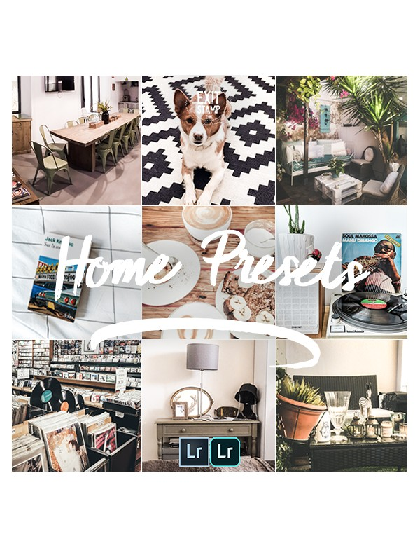 Exit Stamp Home Presets