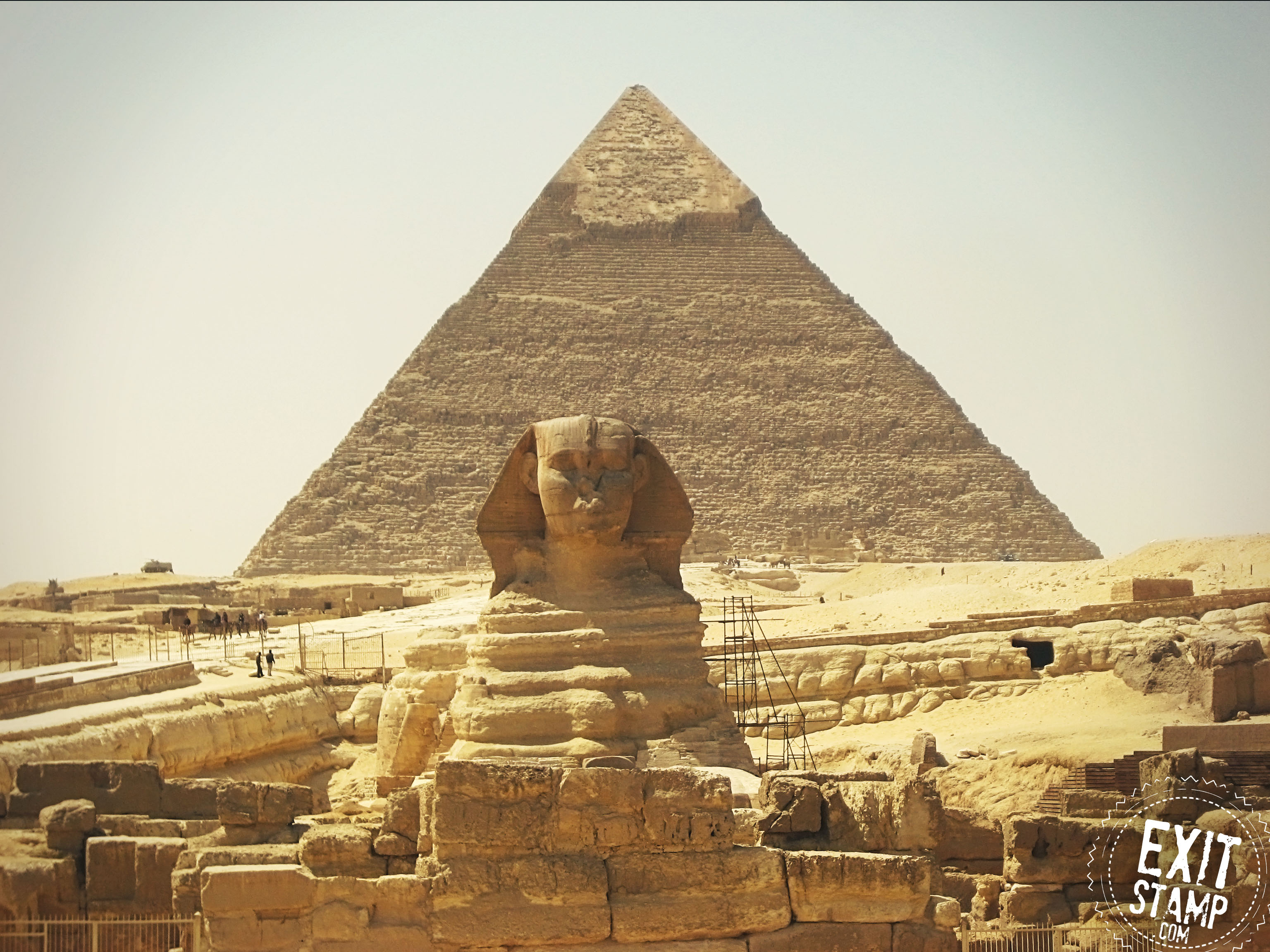 Sphinx Giza Pyramid Egypt
