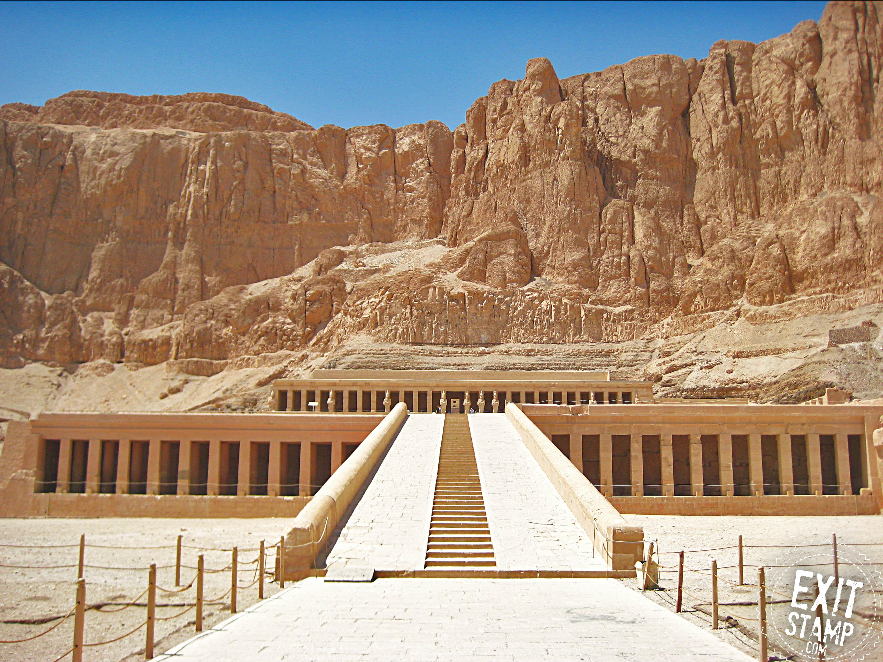 Al-Deir Al-Bahari Temple Egypt