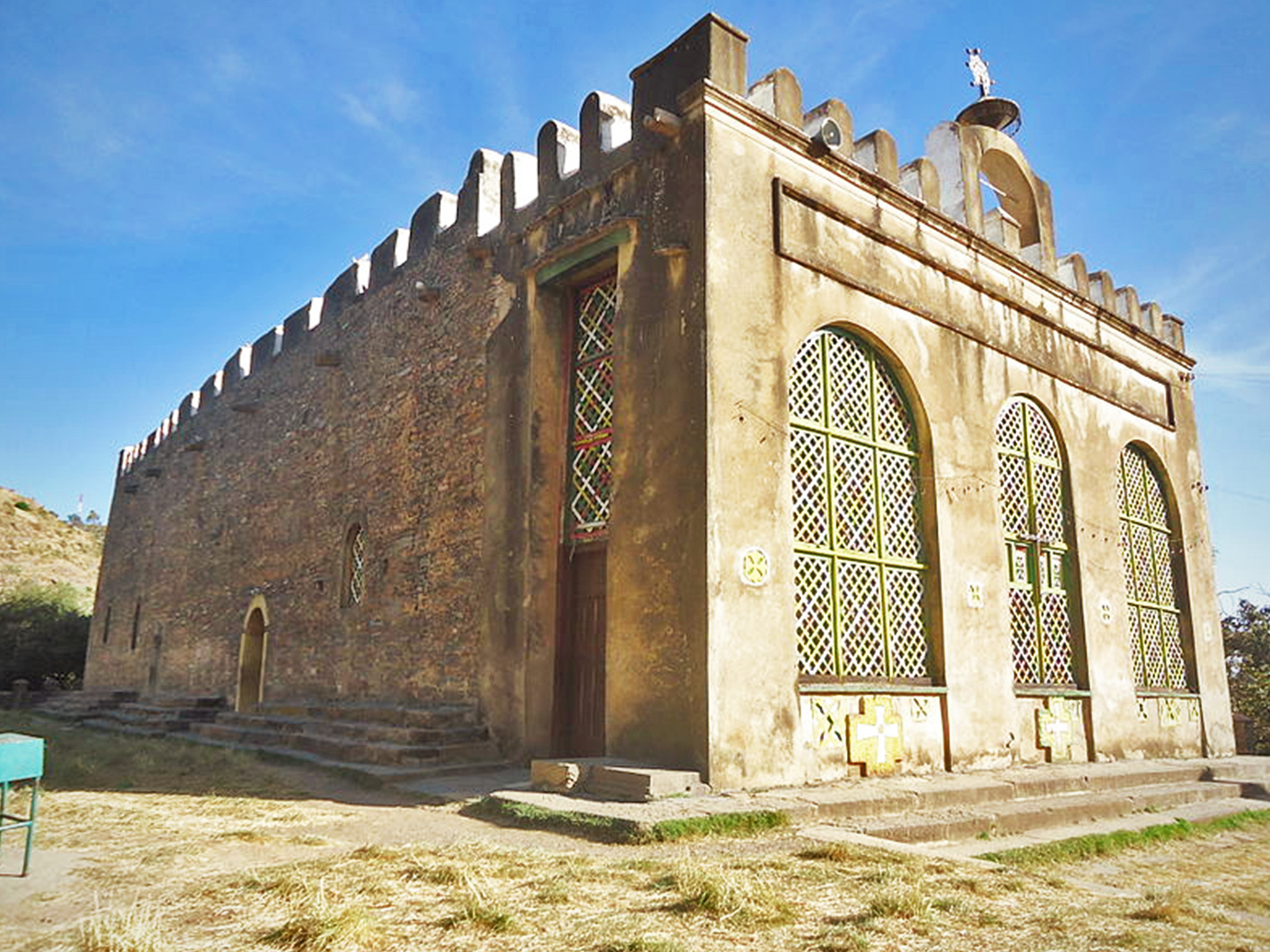 Aksum Maria Zion sacred church