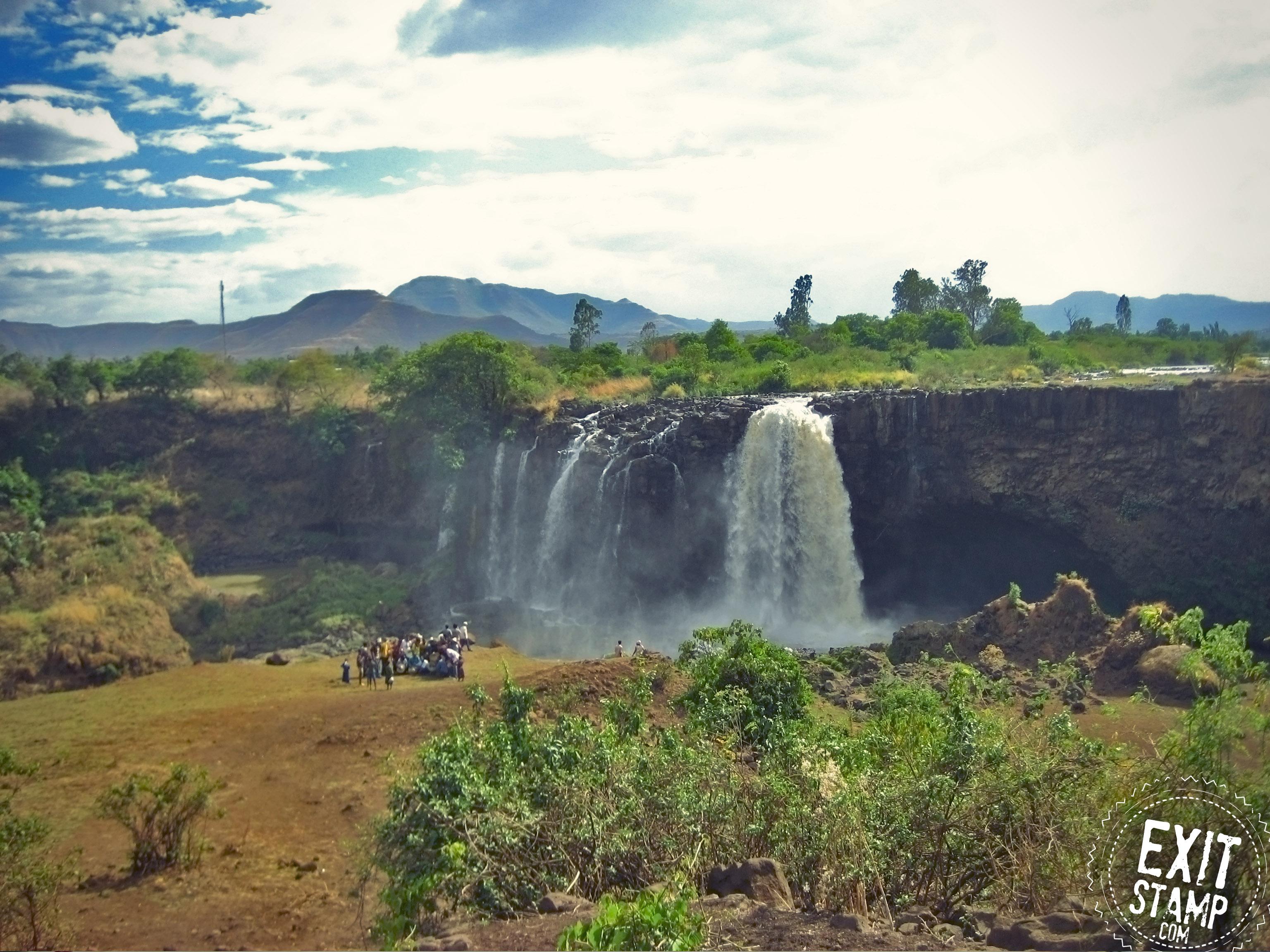 Blue Nile Falls Bahir Dar Ethiopia