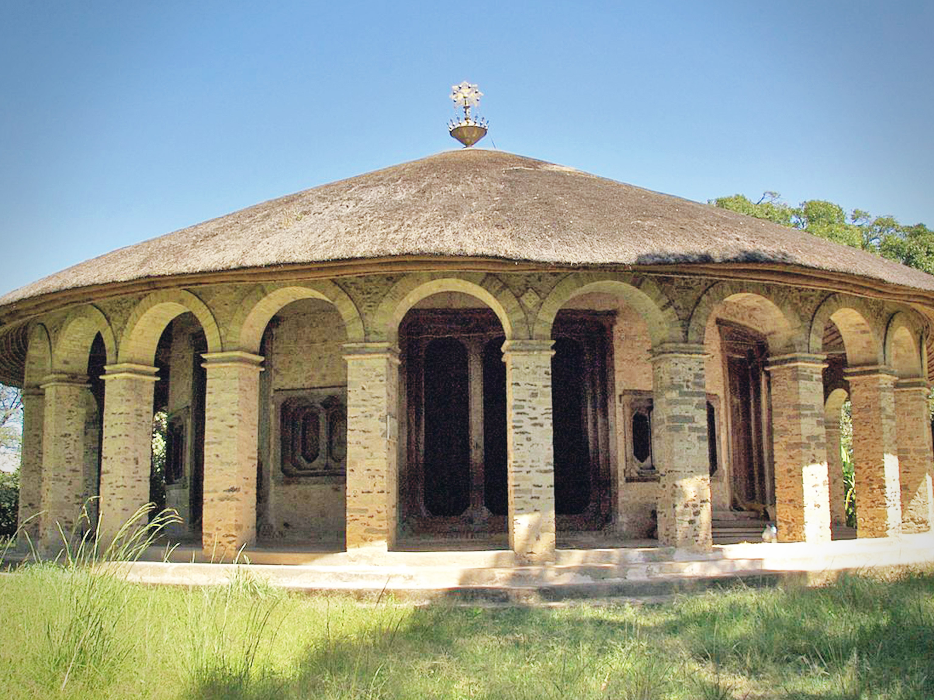 Lake Tana Bahir Dar Ethiopia Church island