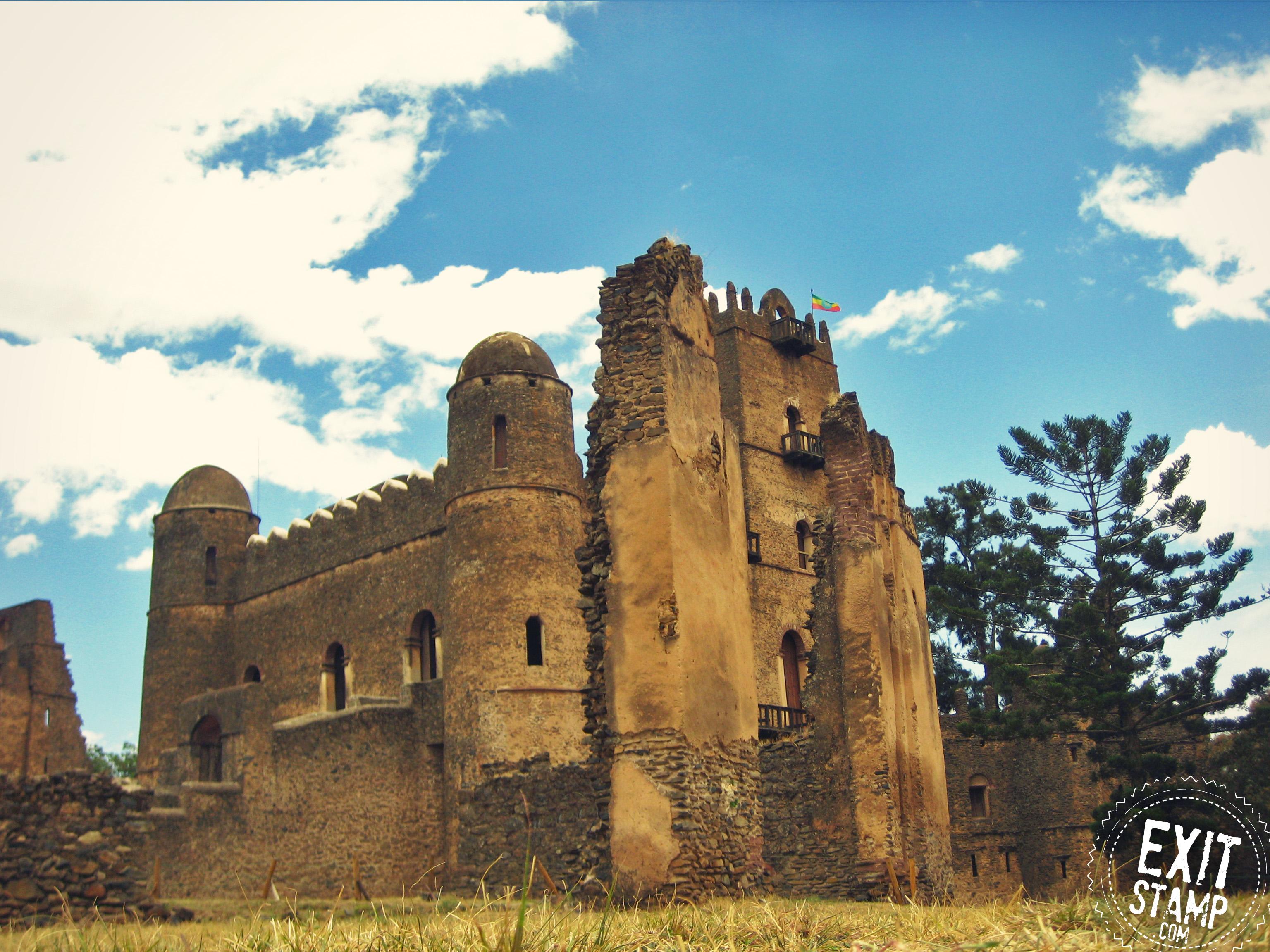 Gonder Castle Ethiopia