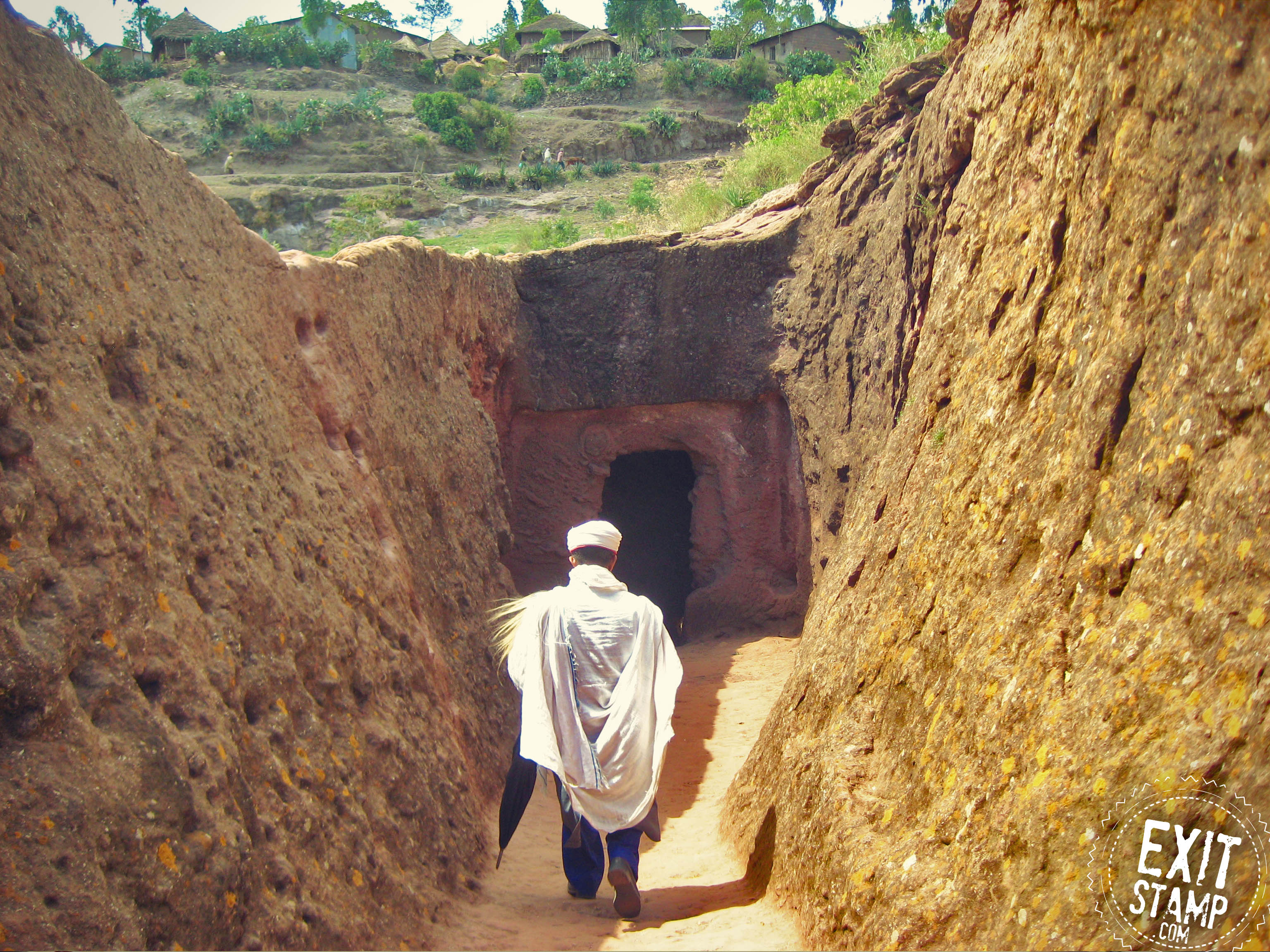Lalibela Ethiopia rock church