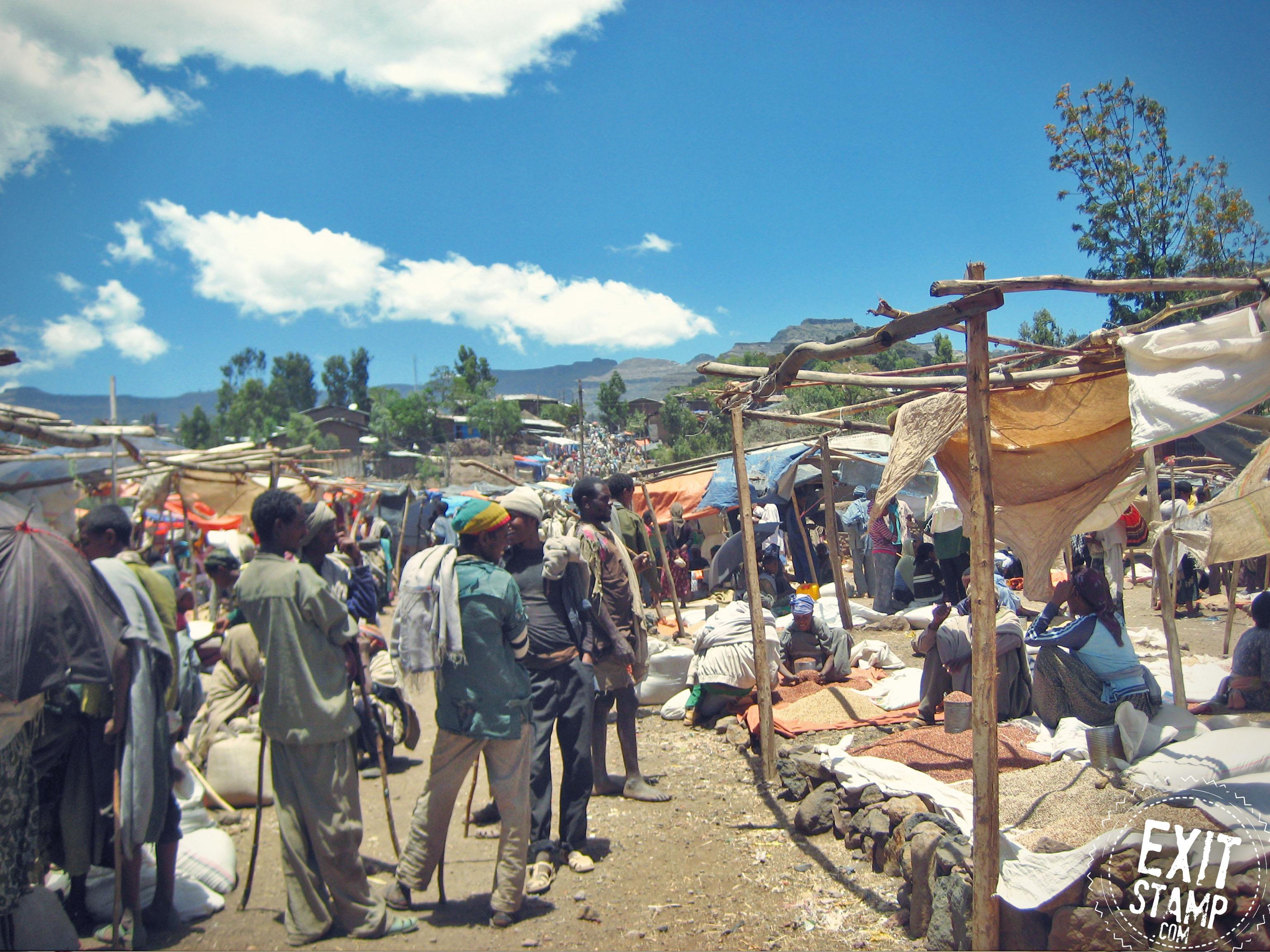 Lalibela market ethiopia