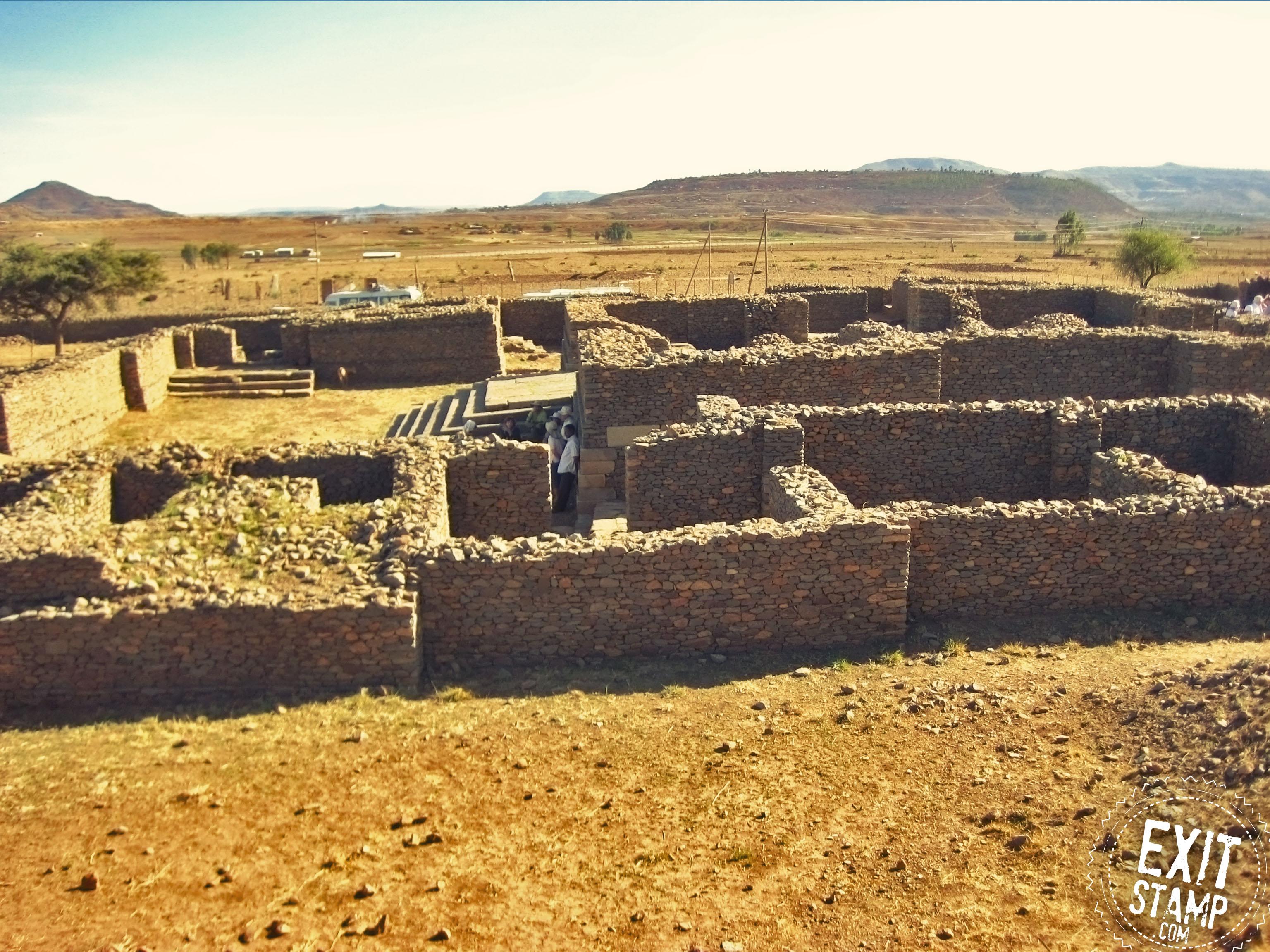 Aksum Ethiopia Ruins