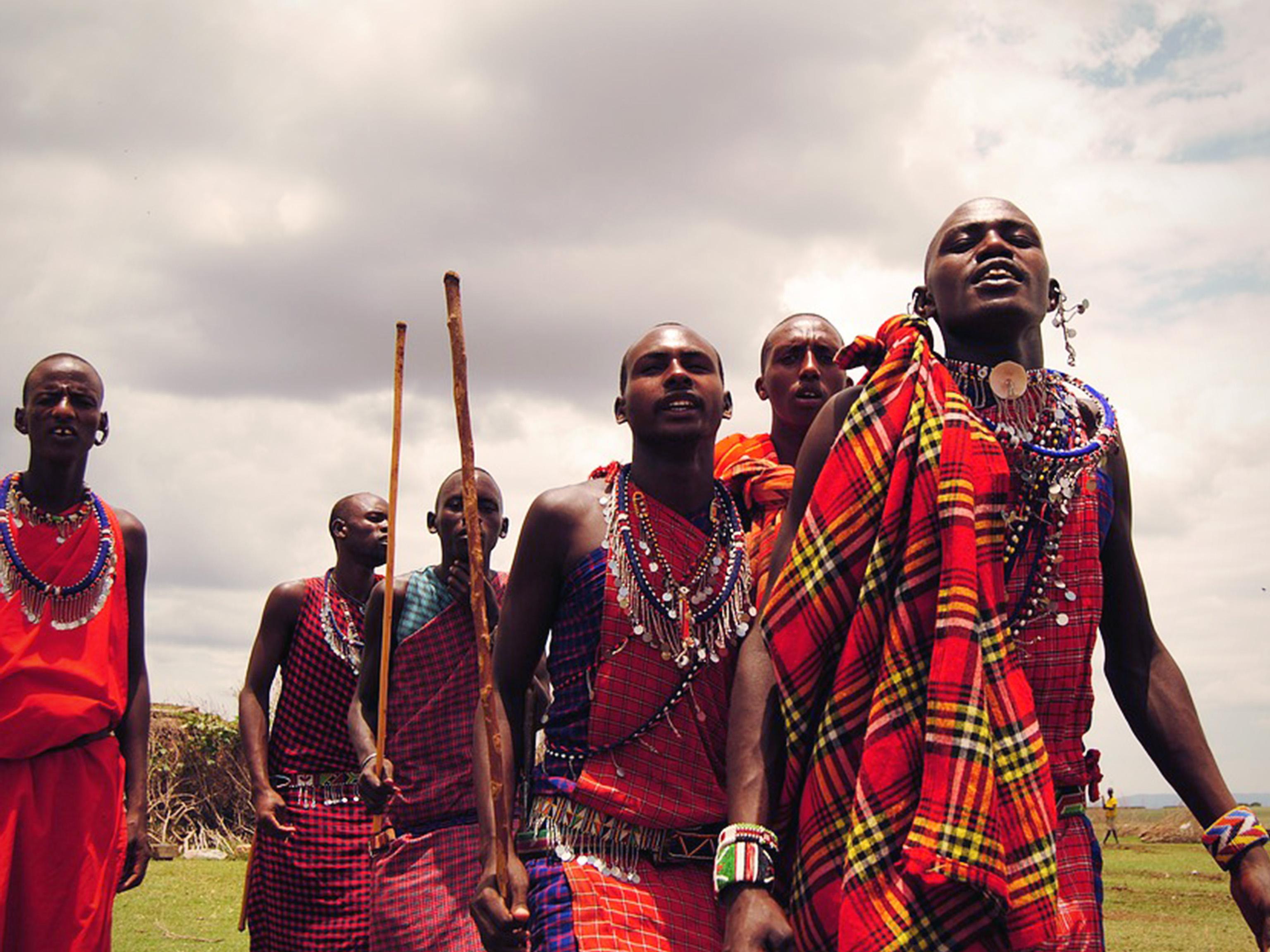 Masai Mara Tribe Kenya