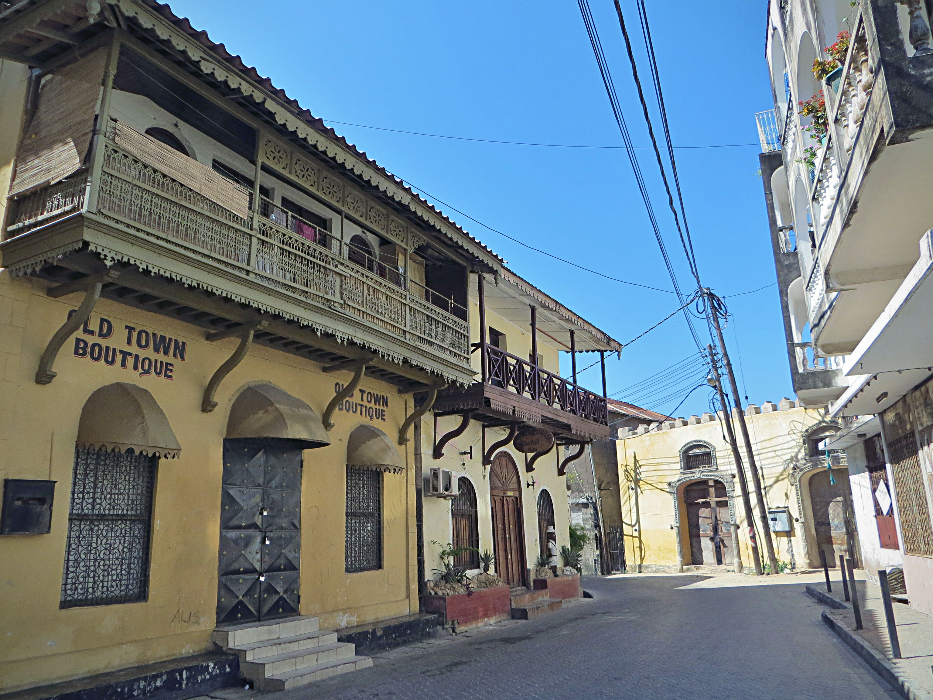 Mombasa Old Town
