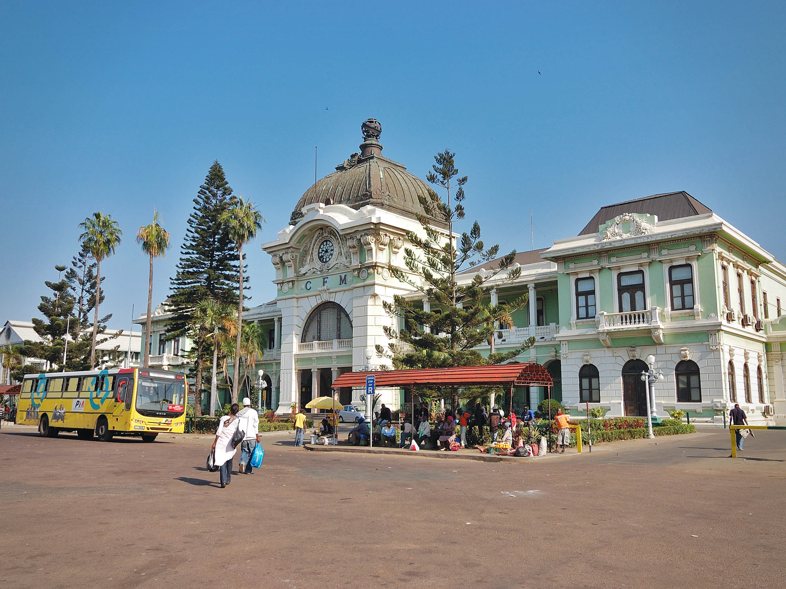 Maputo Mozambique Train Station