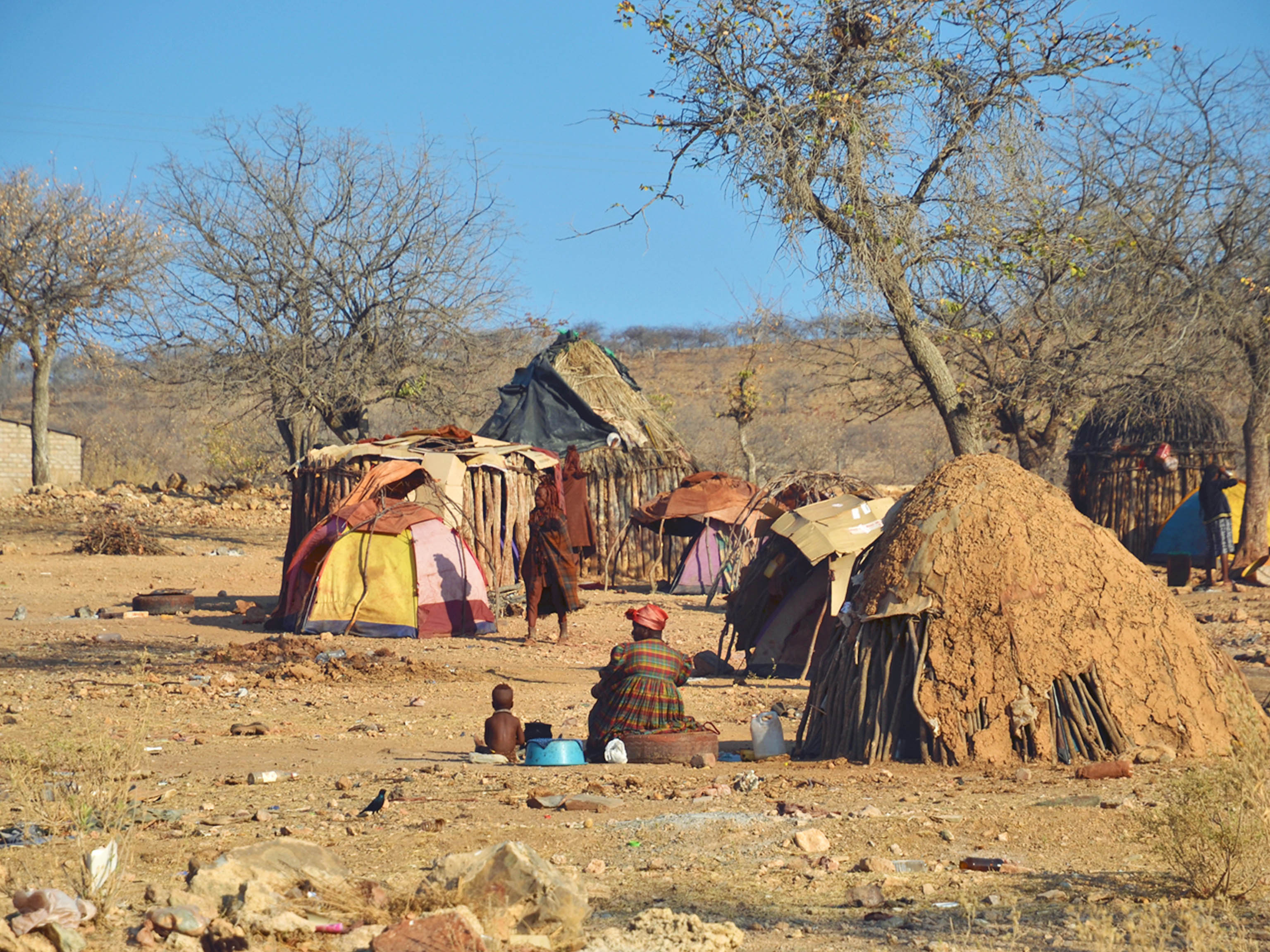 Namibia Himba Tribes Village