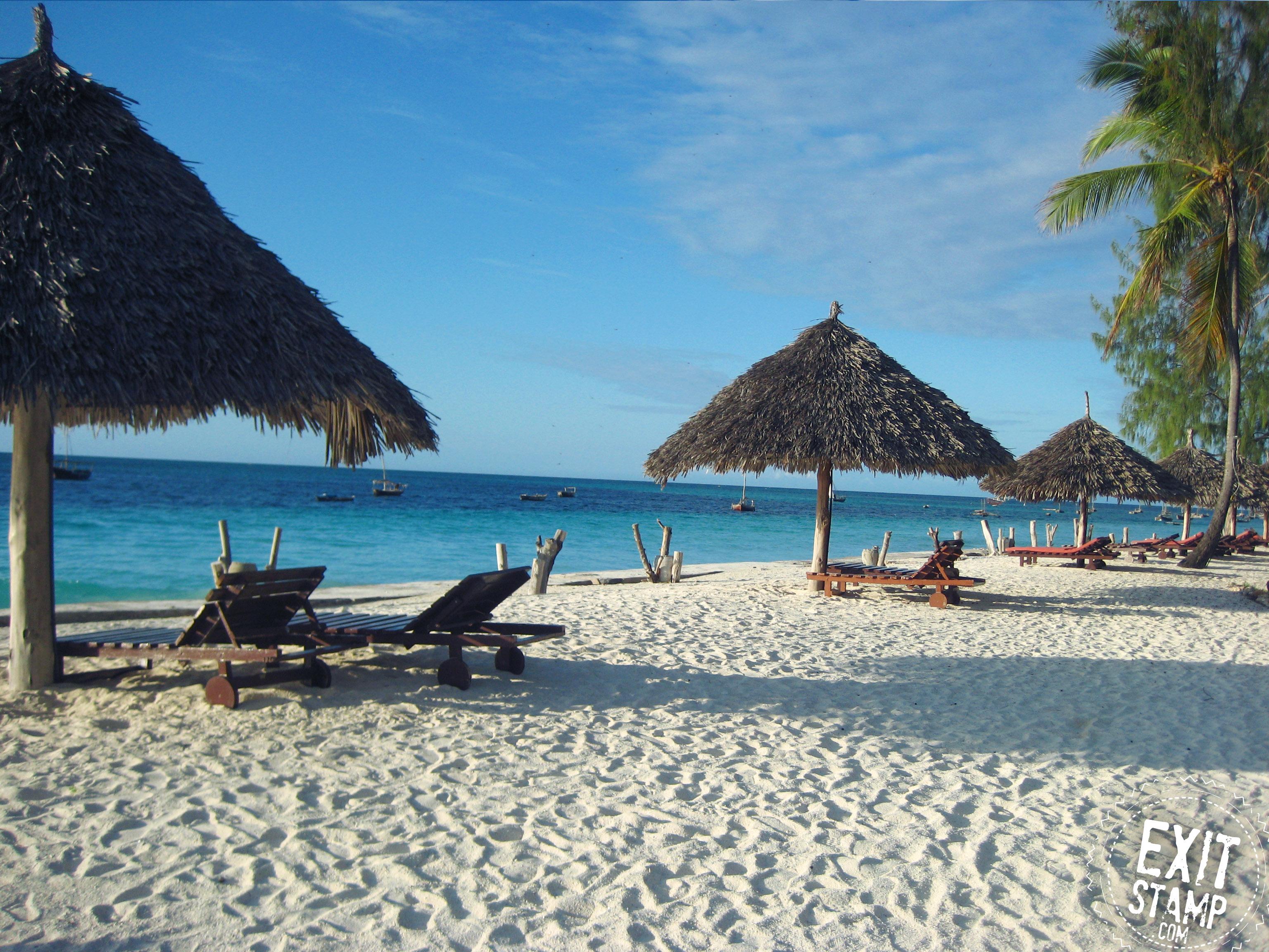 Zanzibar beach Tanzania Nungwi kendwa page