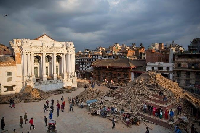 Kathmandu Durbar Square Earthquake
