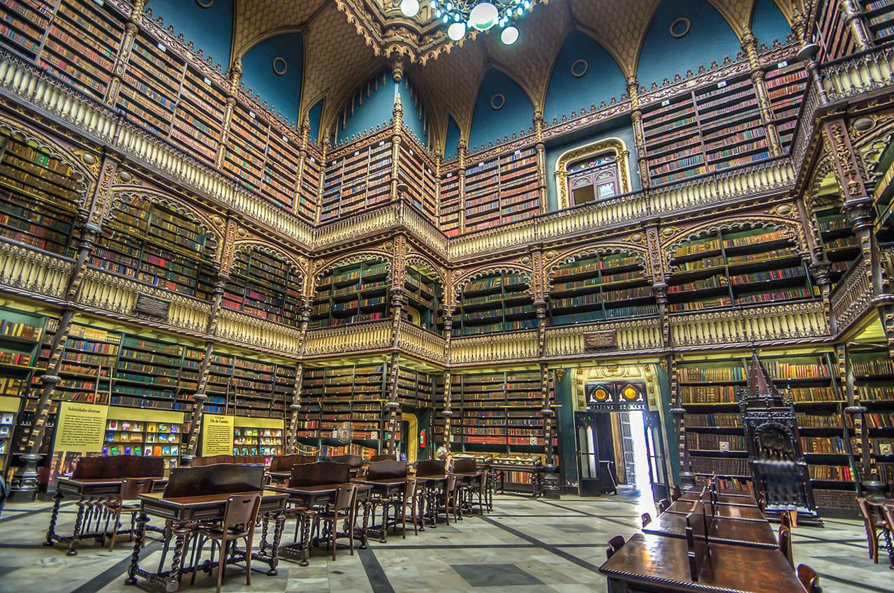 Real Gabinete Português de Leitura, Rio