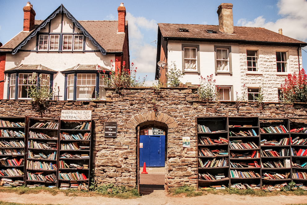 Honesty Bookshop, Hay-on-Wye, Wales