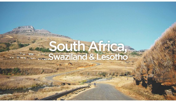 Exit To South Africa, Swaziland & Lesotho